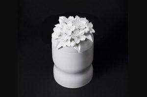 筒型 骨壷 英一郎 桜